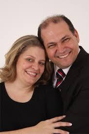 Lilian e Jeremias Figueredo. Na busca de votos.