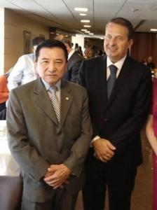 junjiAbe e Eduardo Campos