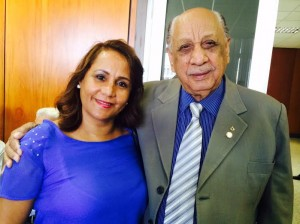 Bena e Benedito Domingos: Filha é a sucessora política da família e já preocupa adversários.
